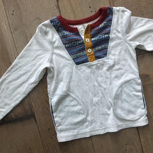 19cb93d4 OshKosh B'gosh Shirts & Tops   Oshkosh Genuine Kids Henley Tee ...